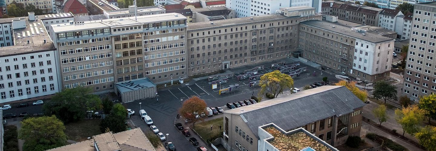 View on the former Stasi headquarters
