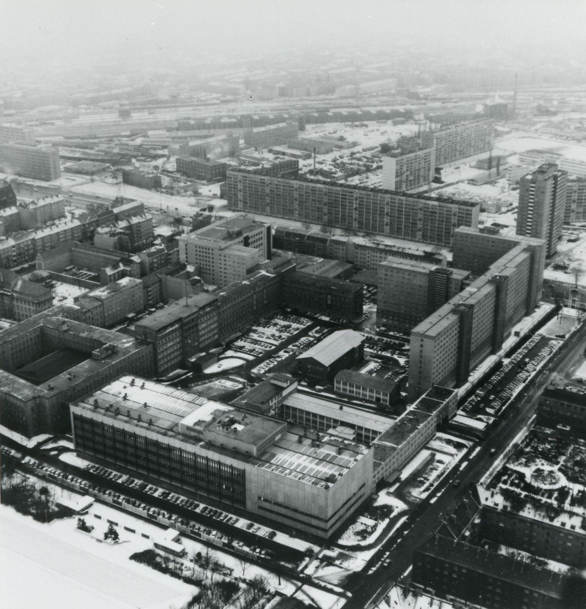 Aerial View Stasi headqaurters 1985